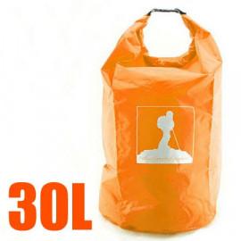 30L Waterproof Outdoor Dry Bag (ORANGE)