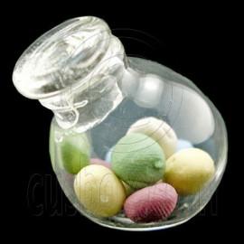 Kitchen Beads Slanting Glass Bottle Dollhouse Miniature