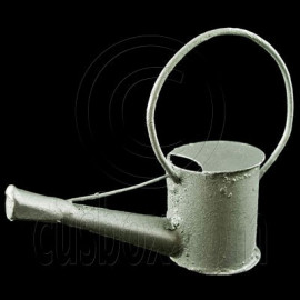 Garden Galvanized Watering Pot 1:12 Dollhouse Miniature