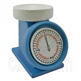 Blue Chef Baker Scale Balance 1:12 Dollhouse Miniature
