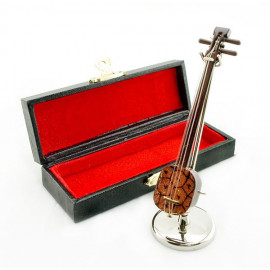 South Chinese Lute Qinqin Musical Dollhouse Miniature