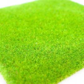Handmade Bright Green Grass Mat Scale Train Model OO