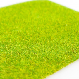Handmade Yellow Green Grass Mat Scale Train Model OO