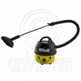 Yellow Vacuum Dust Cleaner Machine w Tube Dollhouse Miniature