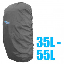 BlueField Backpack Rain Cover 35L to 55L GRAY (Medium)