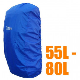BlueField Backpack Rain Cover 55L to 80L BLUE (Large)