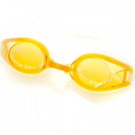 Colourful Silicone Swimming Goggles G1800 YELLOW