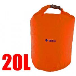 20L Bluefield Waterproof Outdoor Dry Bag (ORANGE RED)