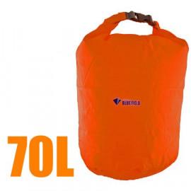 70L Bluefield Waterproof Outdoor Dry Bag (ORANGE RED)