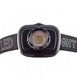 3W LED 3 Mode Headlamp (6602 BLACK)