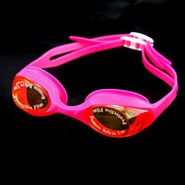 Swimming Kids Goggles with Box HOT PINK