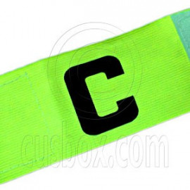 Football Games Gear Adjustable Captain Armband (YELLOW)