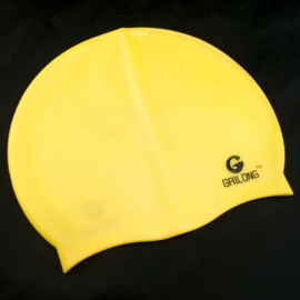 Silicone Swim Cap (YELLOW)
