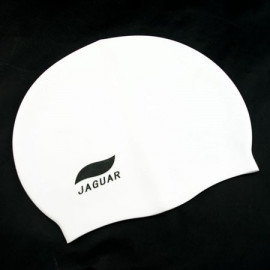 Silicone Swim Cap (WHITE)