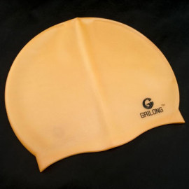 Silicone Swim Cap (ORANGE)