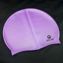 Silicone Swim Cap (PURPLE)