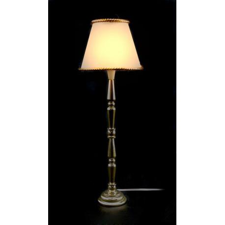 Shade Fringed Floor Lamp 12V Light Dollhouse Miniature