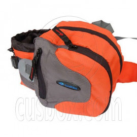 BlueField Waist Pack Fanny Belt Bum Hiking Camping Travelling Bag (ORANGE)