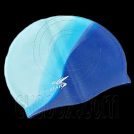 Silicone Swim Cap (3 BLUE COLOR)