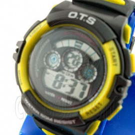 Digital Sports Ladies' Kids' Watch (833) (YELLOW)