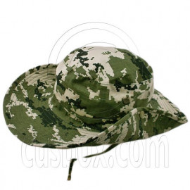 3 Color Green Digit Camo Boonie Hat