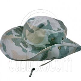 Brown & Green Desert Camo Boonie Hat