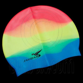 Silicone Swim Cap (RAINBOW MULTI-COLOR)