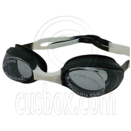 Swimming Kids Goggles with Box BLACK & WHITE