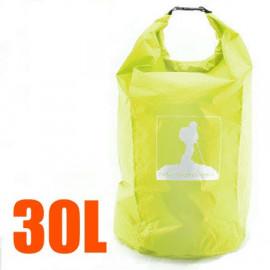 30L Waterproof Outdoor Dry Bag (GREEN)