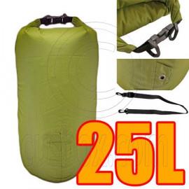 25L Taffela Waterproof Dry Bag (with 1 Eyelet & shoulder strap)
