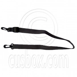 Adjustable shoulder strap for 1 eyelet dry bag