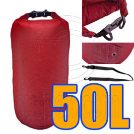 50L Taffela Waterproof Dry Bag (with 1 Eyelet & shoulder strap)