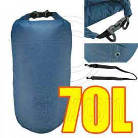 70L Taffela Waterproof Dry Bag (with 1 Eyelet & shoulder strap)