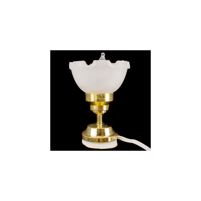 12v frosted ceiling desk lamp light dollhouse miniature for 12v table lamp