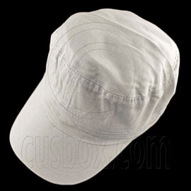 Military Cap with Clip (GRAY)