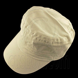 Military Cap with Clip (KHAKI)