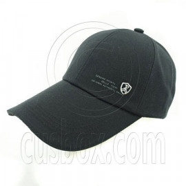 3.5 inches Sandwich Bill Cap C BLACK