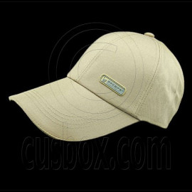 3.5 inches Sandwich Bill Cap B KHAKI