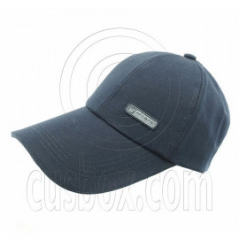 3.5 inches Sandwich Bill Cap B NAVY BLUE