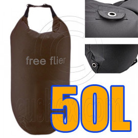 50L Taffela Waterproof Dry Bag (with 3 Eyelet)