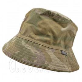 Reversible Outdoor Camo Bucket Hat (Light Woodland / Green)