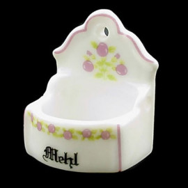 Porcelain New Rack Container Hanger Dollhouse Miniature
