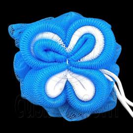 Mesh Bath Sponge 65g (BLUE)