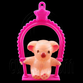 Plastic Bear Swing Chair 1:6 Barbie Blythe Doll's House Dollhouse Miniature
