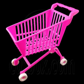 Pink Shopping Mall Cart 1:6 Barbie Blythe Doll's House Dollhouse Miniature