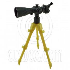 Professional Telescope with Tripod 1/6 Barbie Doll's House Dollhouse Miniature