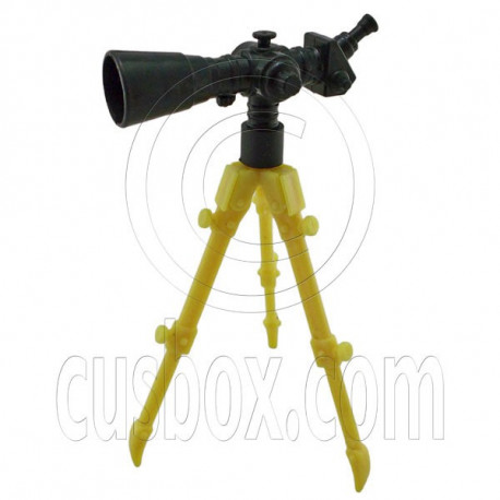 Professional Telescope with Tripod 1/6 Barbie Doll's House Dollhouse Miniature