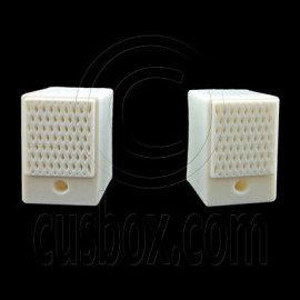 Pair 2 Woofer Speakers 1/6 for Barbie Blythe Doll's House Dollhouse Miniature