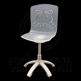 Plastic Office Home Bar Chair 1/6 Blythe Barbie Doll's House Dollhouse Furniture