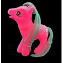 Pink Rubber Cute Pet Horse 1/6 Barbie Kelly Doll's House Dollhouse Miniature